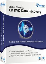 Stellar Phoenix CD DVD Recovery 6.1 Giveaway