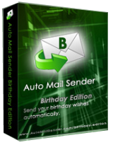 Auto Mail Sender Birthday Edition 3.1 Giveaway