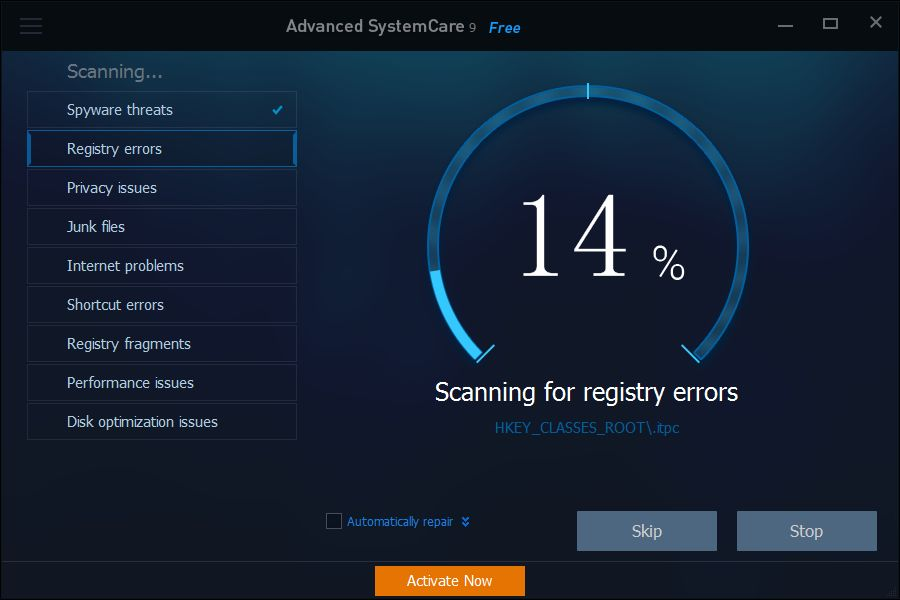Advanced System Care Pro 9