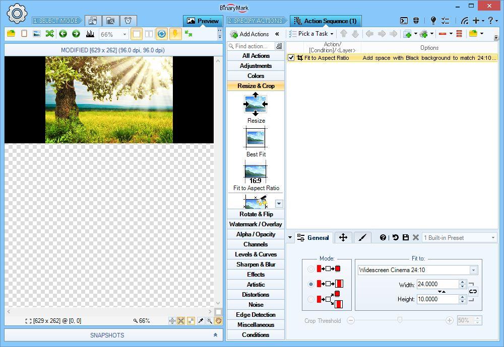 BinaryMark Batch Image Resizer 5.5.4