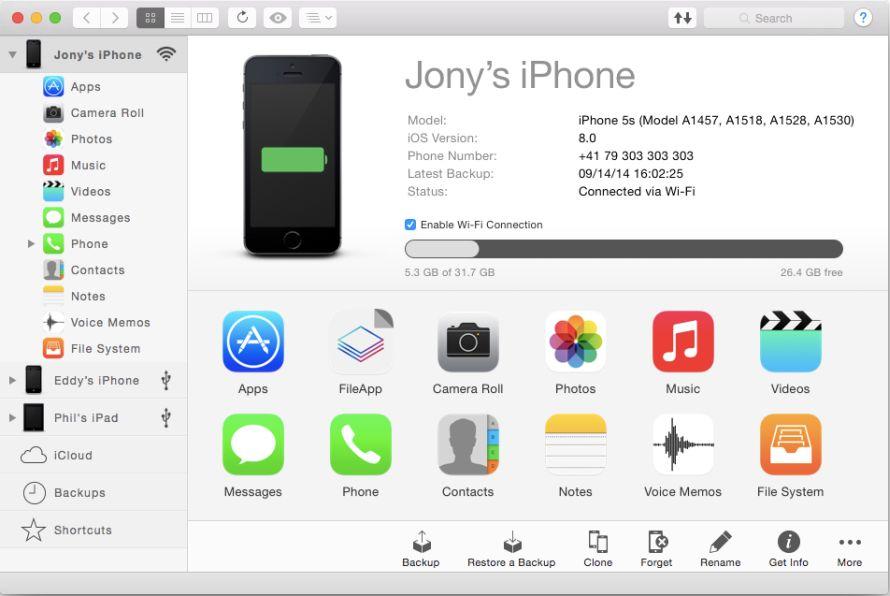 iMazing - iOS 设备管理工具[Windows][$34.99→0]丨反斗限免