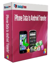 Backuptrans iPhone Data to Android Transfer 3.1 Giveaway