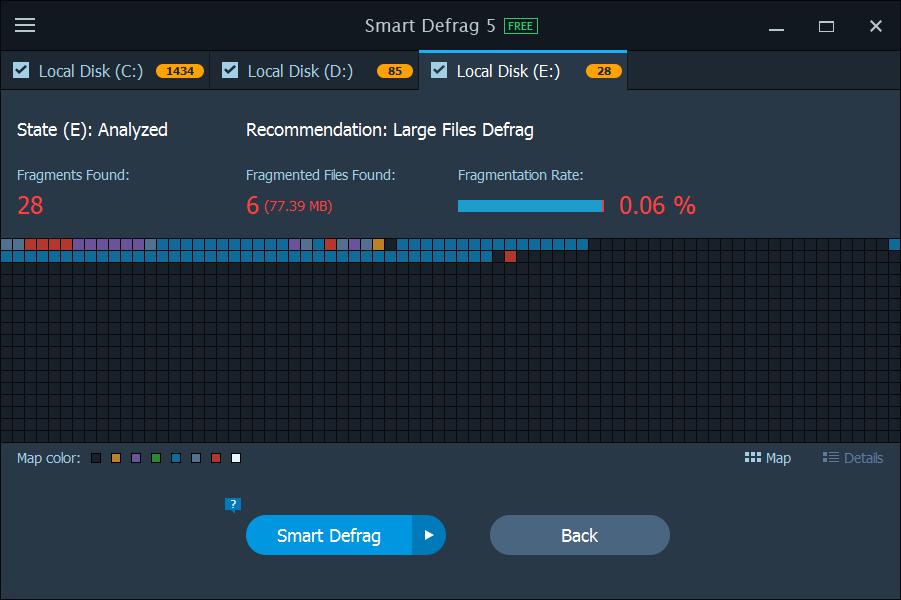 Smart Defrag Pro 5