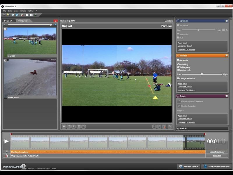 Программа для обработки видеозаписей