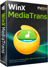 WinX MediaTrans 3.2 iPhone/iPad content management and transferring software
