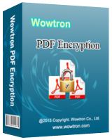 WowTron PDF Encryption 2.1.1 Giveaway