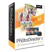 PhotoDirector 6 Deluxe Giveaway