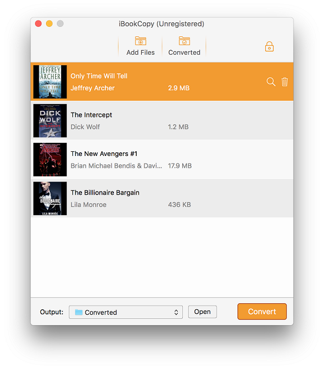 TunesKit iBook Copy for Mac