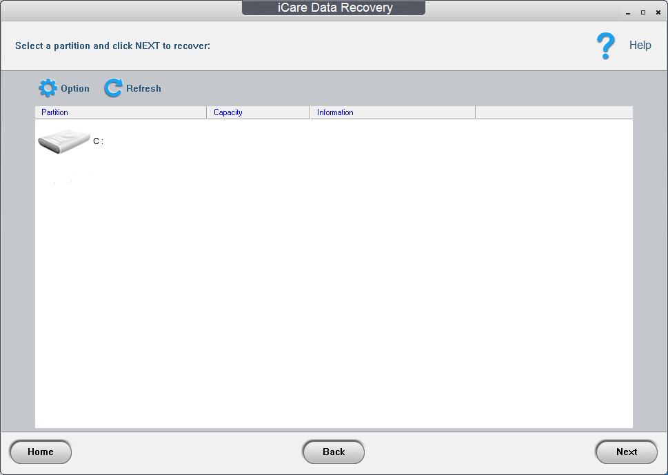 icare data recovery code register