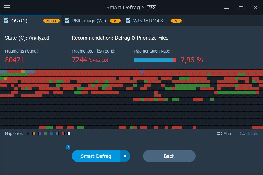 IoBit Smart Defrag 5