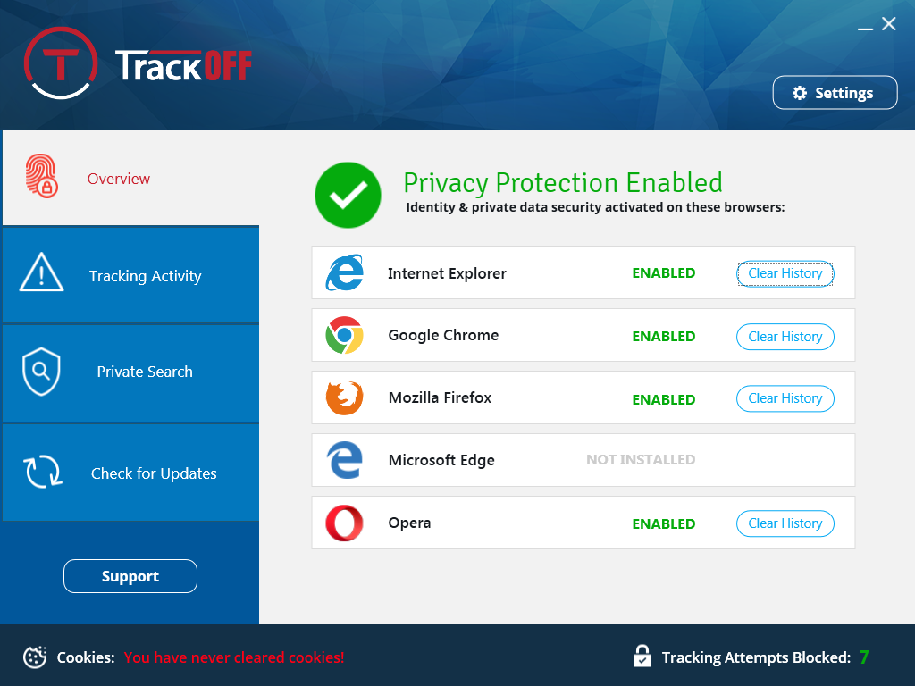 Resultado de imagen para TrackOFF Basic