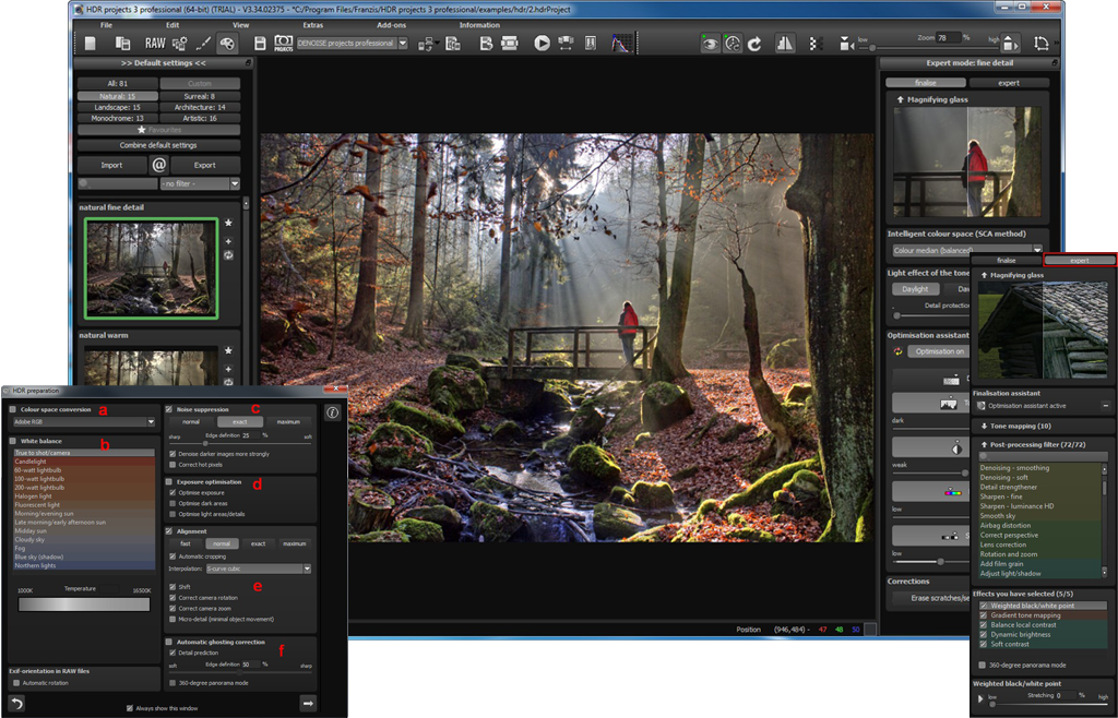 HDR projects 3 Pro
