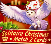 Solitaire Christmas Match 2 Cards Giveaway