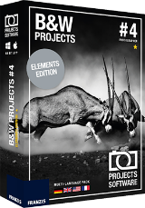 Black&White projects 4 elements Giveaway