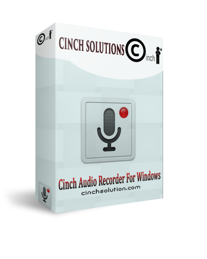 Cinch Audio Recorder 2.0.1 Giveaway