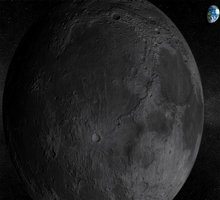 Solar System - Moon 3D Screensaver Giveaway