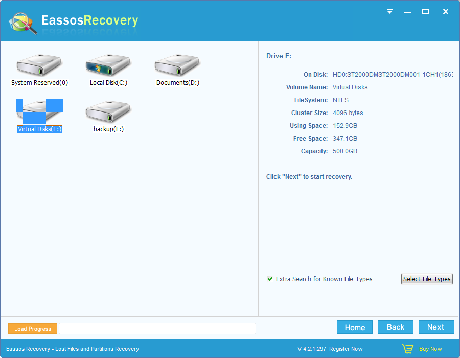 eassos recovery full download