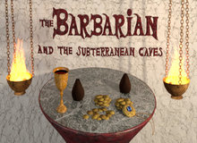 The Barbarian and the Subterranean Caves Giveaway