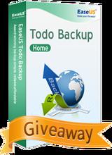 EaseUS Todo Backup Home 9.2 Giveaway