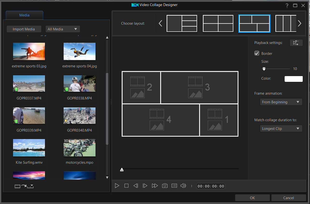cyberlink powerdirector slideshow templates - powerdirector 16 ultra the no 1 choice for video editors