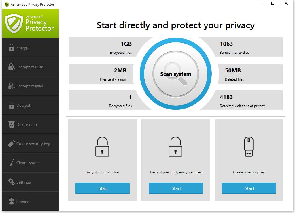 Descarga De Software Ashampoo Privacy Protector
