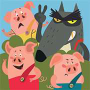 The Adventures of the Three Little Pigs Giveaway