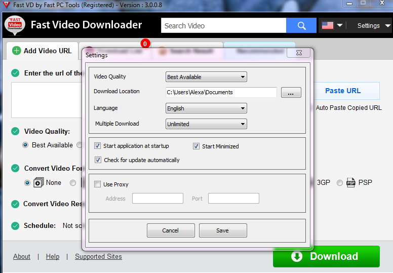 Giveaway of the day in portuguese fast video downloader 310 fast video downloader um software que permite a voc baixar vdeos do bing youku vimeo dailymotion metacafe facebook worldfloat veoh ccuart Images