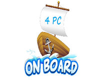 On Board 4 PC Giveaway