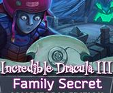 Incredible Dracula III: Family Secret Giveaway