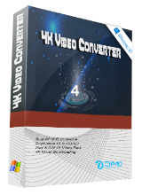 Dimo 4K Video Converter 4.2 (Win & Mac) Giveaway
