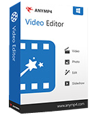 AnyMP4 Video Editor 1.0.8 Giveaway
