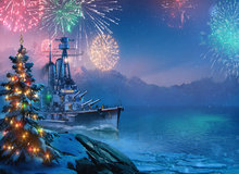 World of Warships New Year's Gifts! Giveaway
