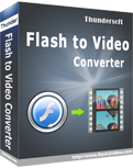 ThunderSoft Flash to Video Converter 3.1.0.0 Giveaway