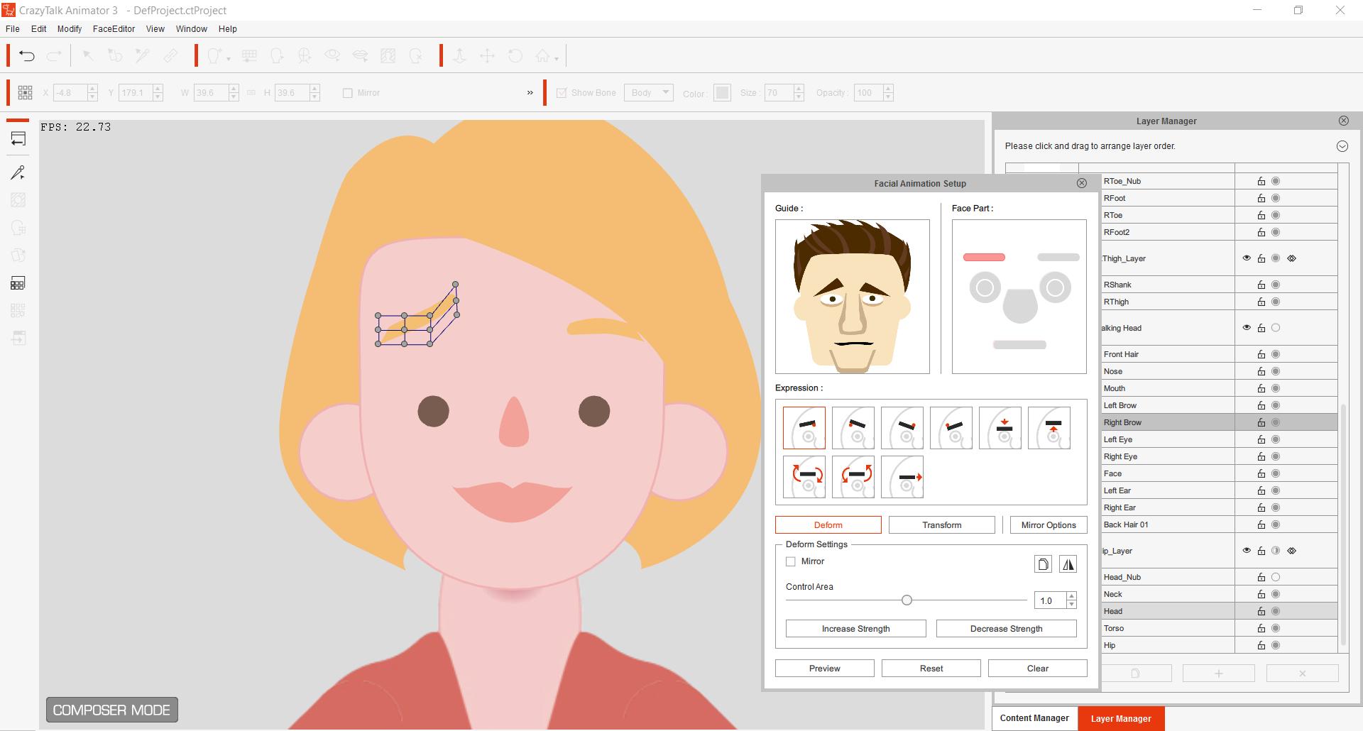 Phần mềm làm hoạt hình CrazyTalk Animator chuyên nghiệp