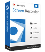 AnyMP4 Screen Recorder Professional 1.2.22 Giveaway