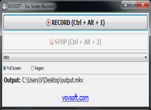 Vov Screen Recorder 2.2 Giveaway