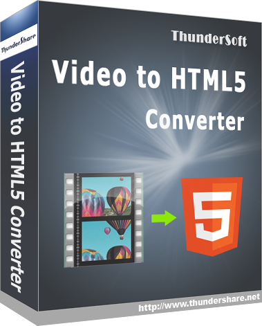 ThunderSoft Video to HTML5 Converter 3.1 Giveaway