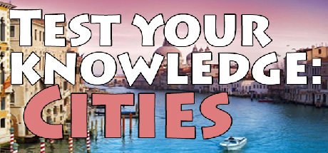 Test your knowledge: Cities Giveaway