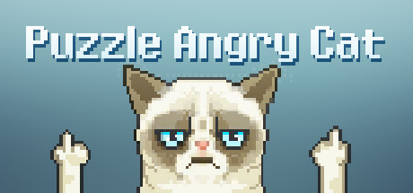 Puzzle Angry Cat Giveaway