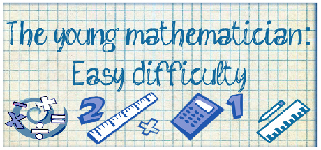 The young mathematician: Easy difficulty Giveaway