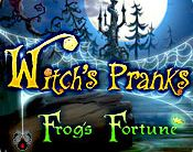 Witch's Pranks: Frog's Fortune Giveaway