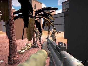 Battle Arena In Desert Giveaway