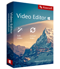 Aiseesoft Video Editor 1.0.16 Giveaway