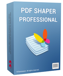 PDF Shaper Professional 11.0 (Lifetime license +1 year of free updates) Giveaway