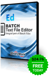 QnA VBage Batch Text File Editor Professional 5.0.19